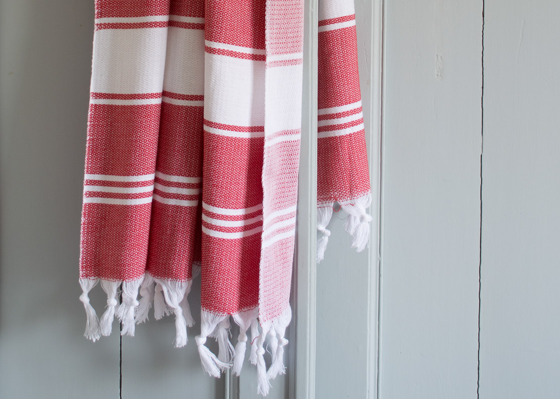 More than 50 colours of hamam towels