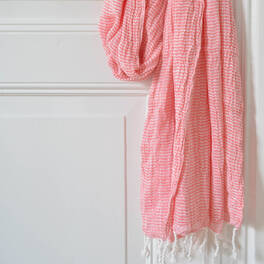 double layered hammam towel<br>(195x95 cm)