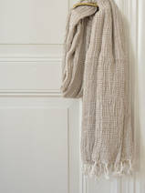 hammam towel double layered olive green